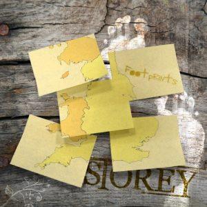 Storey - Footprints. Words & Music by Arron Storey