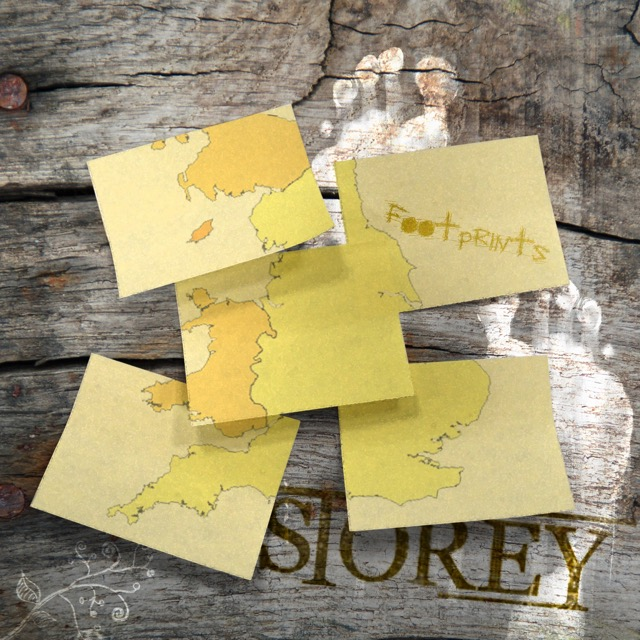 Storey - Footprints. Words & Music by Arron Storey