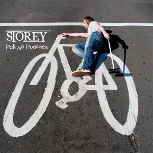 Storey - Pull No Punches artwork. Produced by Arron Storey.