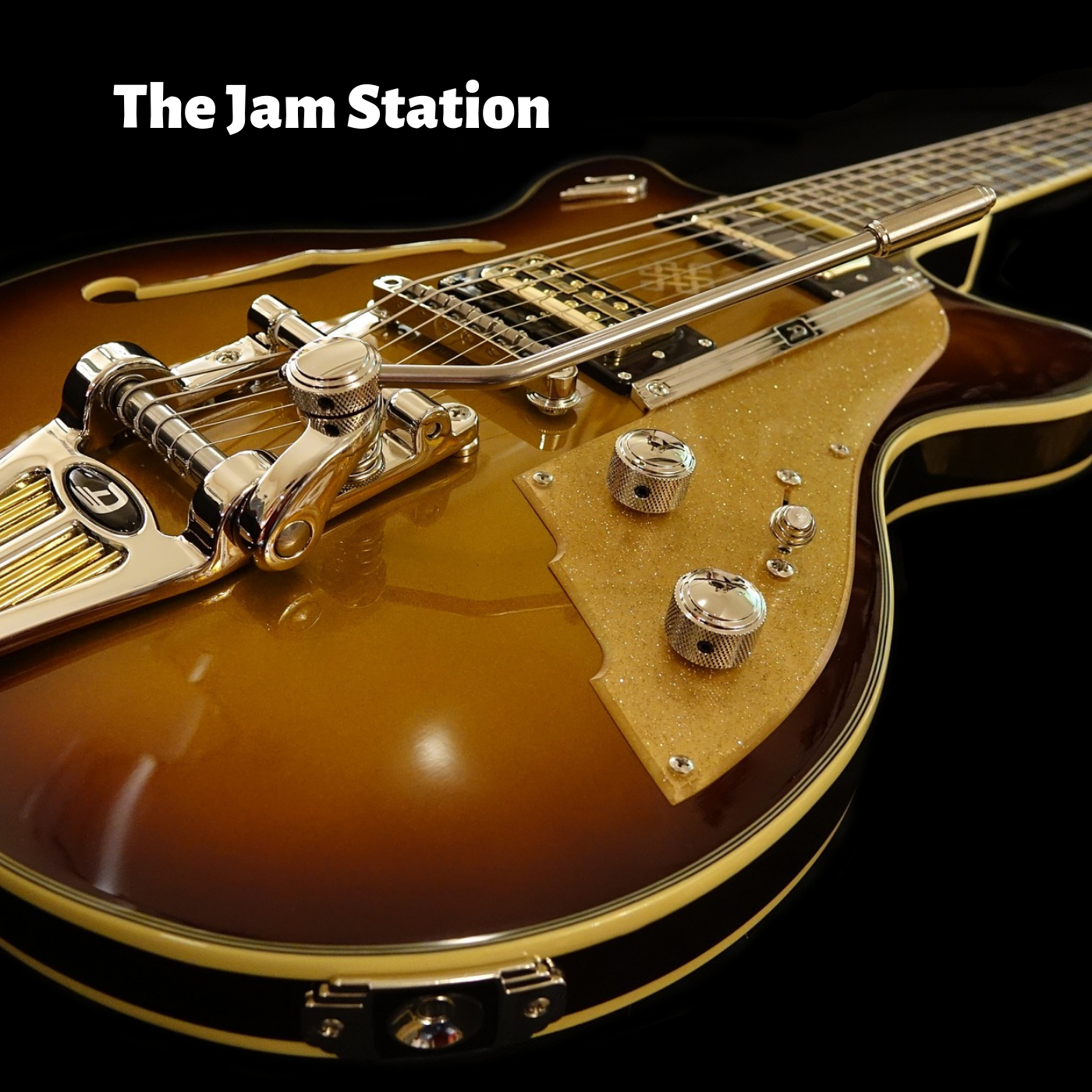 The Jam Station logo, production by composer Arron Storey.