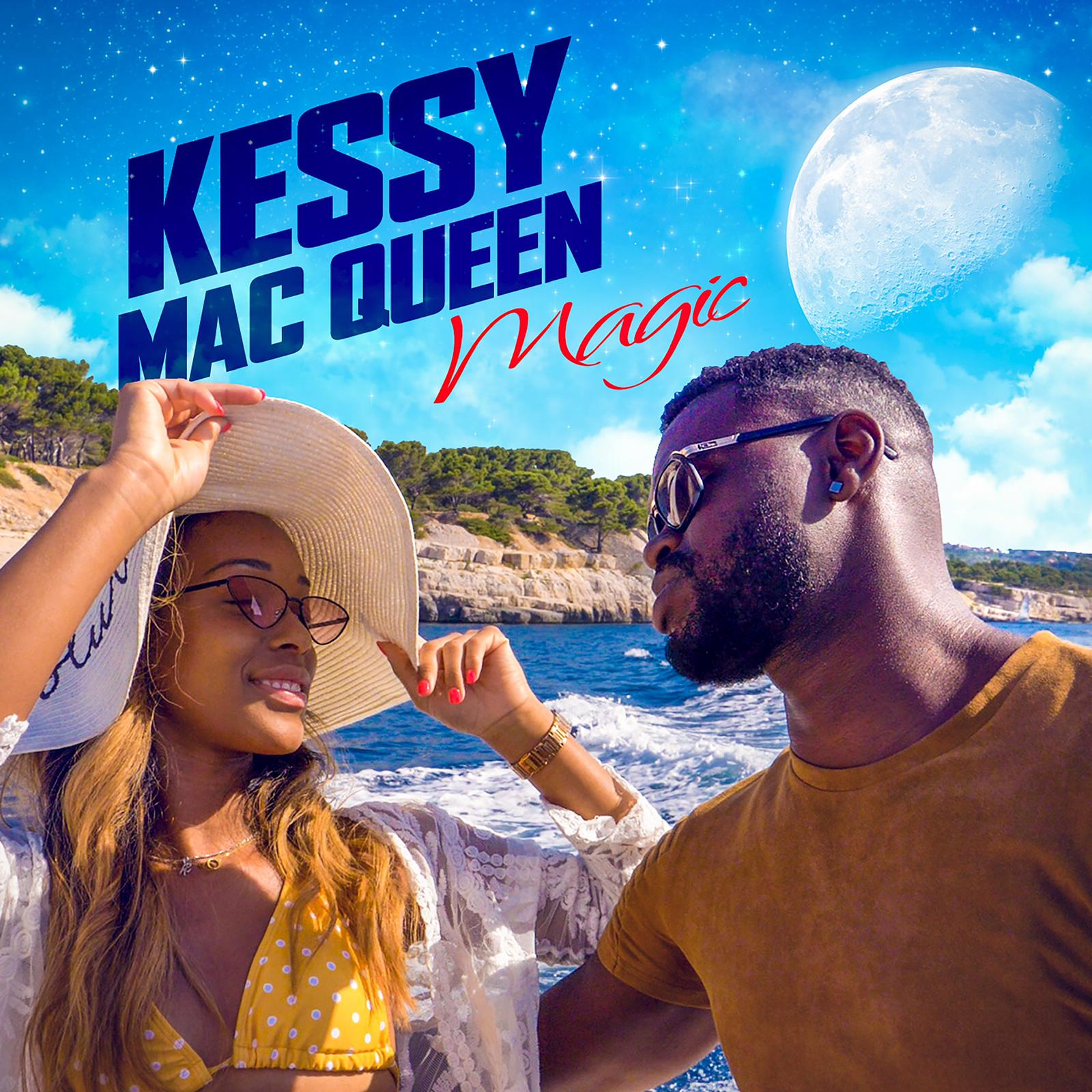 Artwork for Magic by Kessy Mac Queen. Lyrics by top lyricist and composer Arron Storey.