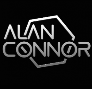 Alan Connor, vocalist & producer. Guitars by Arron Storey