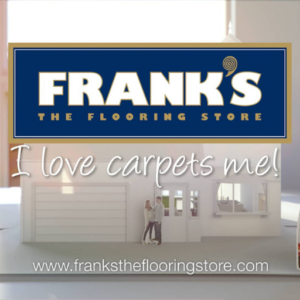 Jingle for Frank's by Anthony Adams and lyricist Arron Storey