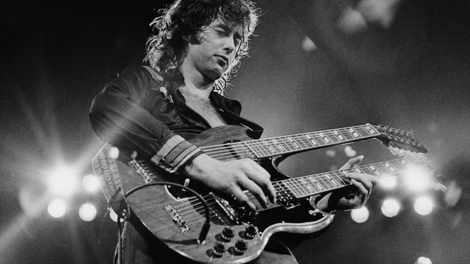 Composer and Guitarist Arron Storey discusses the playing style of Jimmy Page