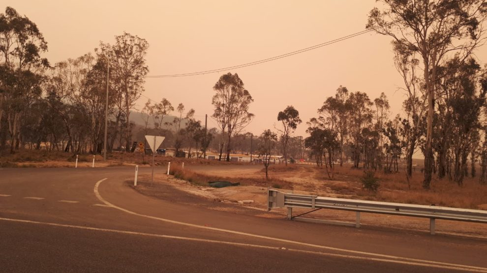 Bush Fire in NSW - Update from Oz